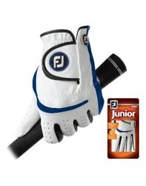 Gant FootJoy Junior Bleu et Blanc