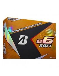 Balles Bridgestone E6 Soft Blanches