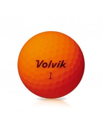 Balles Volvik Vivid XT finition Mate Orange