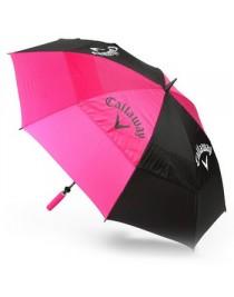 """Parapluie Callaway Dame 60"""" Noir et Rose"""