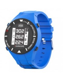 Montre GPS Never Over Tourscope W1 Bleue